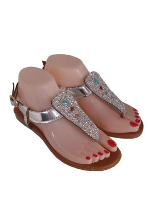 Berk Terlik, Gri Taşlı Sandalet