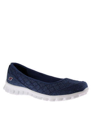 Skechers 22669 Nvy Ez Flex 2 Spruced Up Navy Ayakkabı