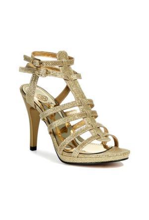 Desa Kadın Abiye Ayakkabı Altın