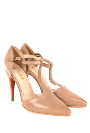 Gön Deri Kadın Ayakkabı 23123