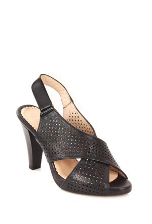 Gön Deri Kadın Sandalet 26023