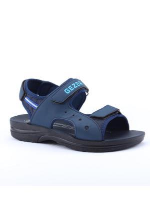 Gezer 07876 Günlük Cırtlı Hafif Yumaşak Rahat Taban Erkek Sandalet