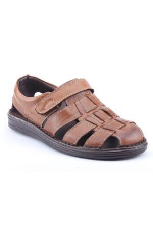 İmperial 2875 Günlük %100 Deri Erkek Sandalet Ayakkabı