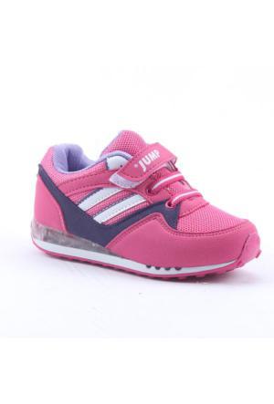 Jump 13089 Günlük Yürüyüş Ortopedik Işıklı Kız Çocuk Spor Ayakkabı