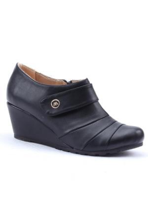 Mavişim Dolgu Topuk Klasik Kadın Ayakkabı