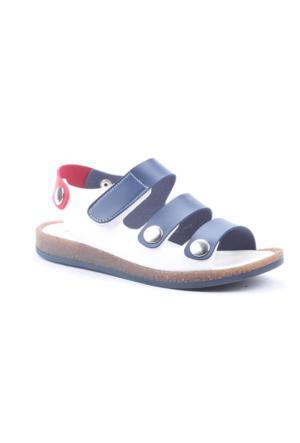 Şirin Bebe 2005 Cırtlı Erkek Çocuk Günlük Ortopedik Sandalet Ayakkabı