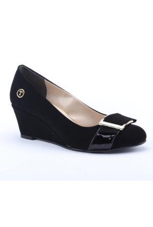 Traks Tecer 1500 Günlük Dolgu Topuk 6Cm Kadın Ayakkabı