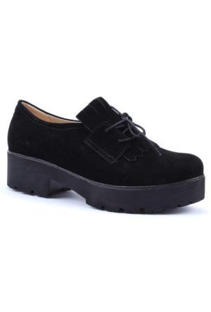 Witty Günlük Kalın Taban Püsküllü Kadın Ayakkabı