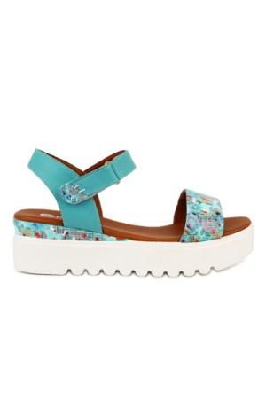 Pomp Shoes - Kadın Deri Sandalet