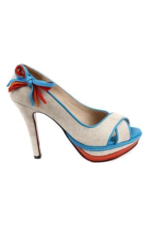 Sail Lakers - Platform Topuklu Ayakkabı