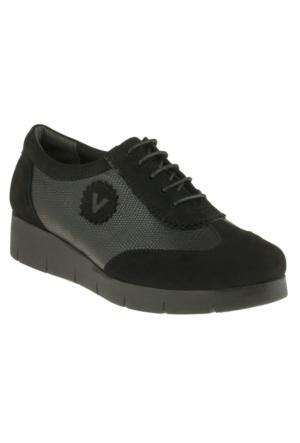 Venus 37706 Bağlı Comfort Siyah Kadın Ayakkabı