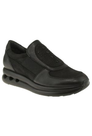 Venus 199404 Tasli Comfort Siyah Kadın Ayakkabı