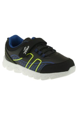 Jump 14184 Flex Bagcik Tek Cirt Siyah Çocuk Ayakkabı