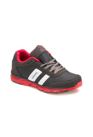 Kinetix A1280571 Koyu Gri Kırmızı Erkek Çocuk Koşu Ayakkabısı