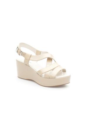 Pedro Camıno Bayan Günlük Ayakkabı 80102 Bej