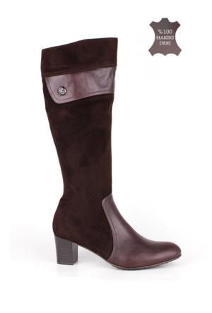 Romani Kadın Kahve Çizme 1116 022 235