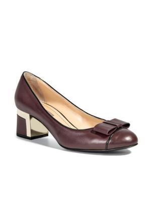 Desa Collection Kadın Klasik Ayakkabı Bordo