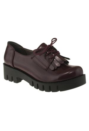 Vicco 970Y166 Bağlı Okul Bordo Çocuk Ayakkabı