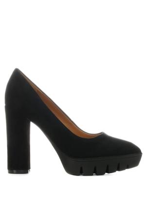 Nine West Nwkasen Siyah Süet Ayakkabı