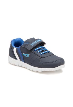 Torex Demba Lacivert Beyaz Saks Erkek Çocuk Sneaker