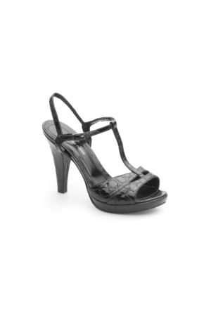 Pedro Camino Kadın Klasik Ayakkabı 89255 Siyah