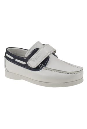 Vicco 909S262 Tek Cirt Beyaz Çocuk Ayakkabı