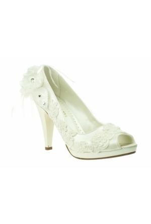 Isabel On Acik Gupur Gelin Sedef Kadın Ayakkabı