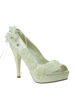 Isabel Platform On Acik Gupur Gelin Sedef Kadın Ayakkabı