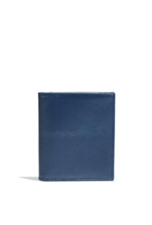Mavi Erkek Gece Lacivert Cüzdan