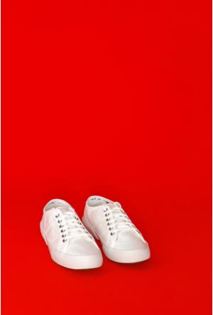 Yıldız Kundura Beyaz Soft Superga Kadın Ayakkabı