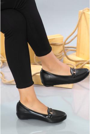 Jeny Siyah Günlük Kadın Ayakkabı-447