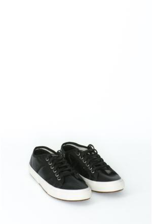 Yıldız Kundura Siyah Soft Superga Kadın Ayakkabı