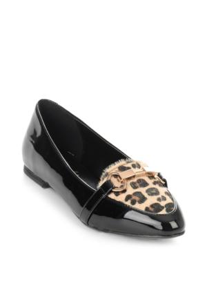 Babet - Siyah Bej Leopar - Bambi