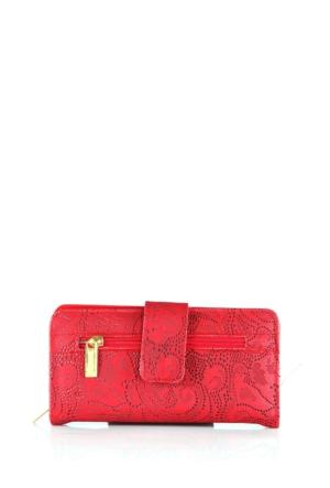 Berramore Selesa R-03-02 Kırmızı Bayan Cüzdan