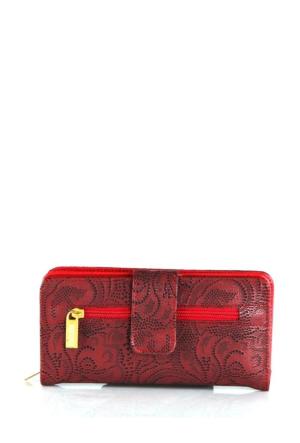 Berramore Selesa R-03-08 Kırmızı Bayan Cüzdan