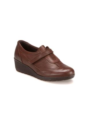 Polaris 5 Nokta 62.109117.Z Kahverengi Kadın Deri Ayakkabı