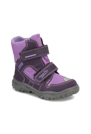 Superfit 5-00044-54 B. Lila Kız Çocuk Süet Deri Çizme