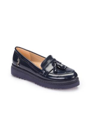 U.S. Polo Assn. A3377383 Lacivert Kadın Ayakkabı