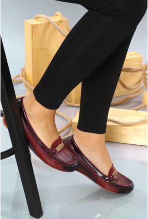 Jeny Bordo Günlük Bayan Ayakkabı 447
