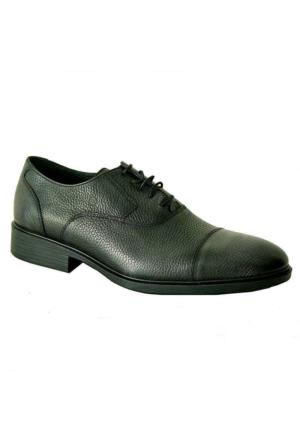 Mammamia 7035 Hakiki Deri Klasik Erkek Ayakkabı Gri