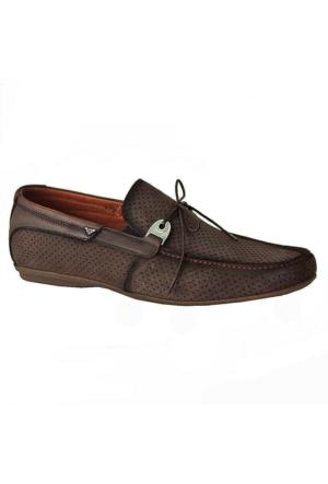 Marcomen 683 Nubuk Deri Erkek Ayakkabı Lacivert
