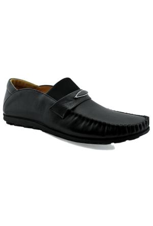 Fratelli 485 Deri Erkek Ayakkabı Siyah