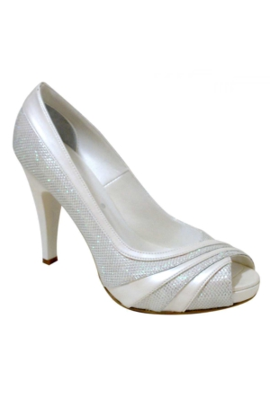 Ayakkabım Çantam Topuklu 9101 Kadın Ayakkabı Sedef