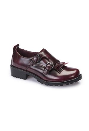 Polaris 62.508569.F Bordo Kız Çocuk Ayakkabı
