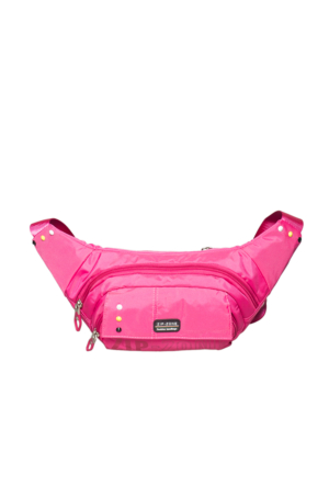 Zip Zone Kumaş Free Bag Z30862 Pembe