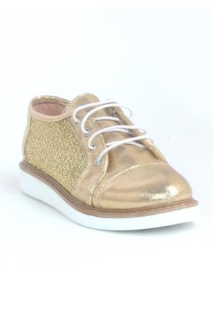 Markazen Detay Spor Ayakkabı - Altın