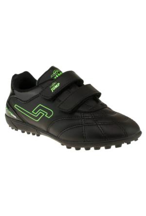 Jump 14227F Çift Cırt Siyah Çocuk Spor Ayakkabı