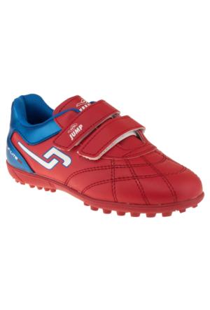 Jump 14227F Çift Cırt Kırmızı Çocuk Spor Ayakkabı
