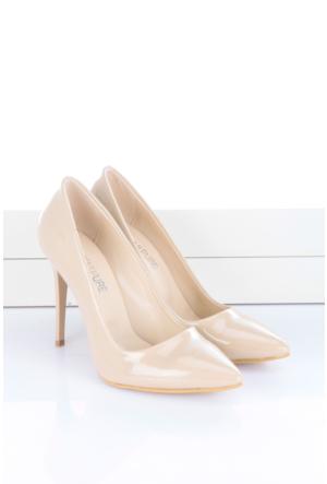 Shoes&Moda Kadın Stıletto Ten