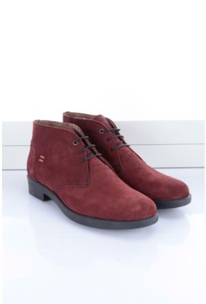 Shoes&Moda Erkek Hakiki Derı Bot Bordo